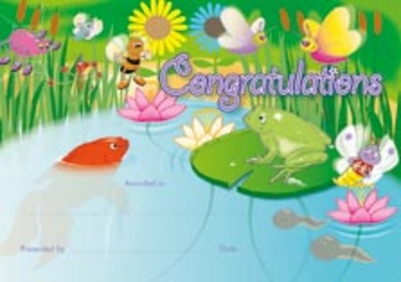 Certificate - Garden Pond - Click Image to Close